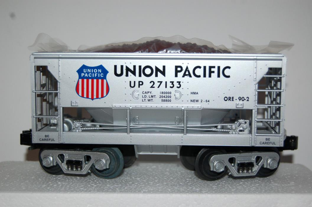 Rail King by MTH Electric Trains 30-7527 Union Pacific Ore Car with Ore Load
