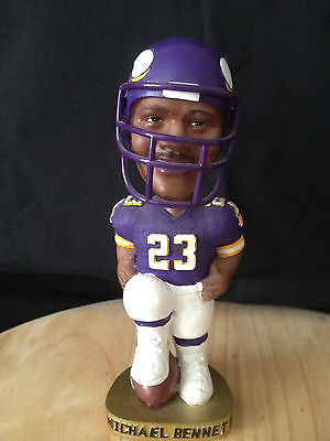 Michael Bennett Minnesota Vikings Bobblehead Gold Base Limited Edition 2004