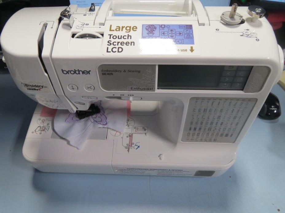 sewing and embroidery machine se425