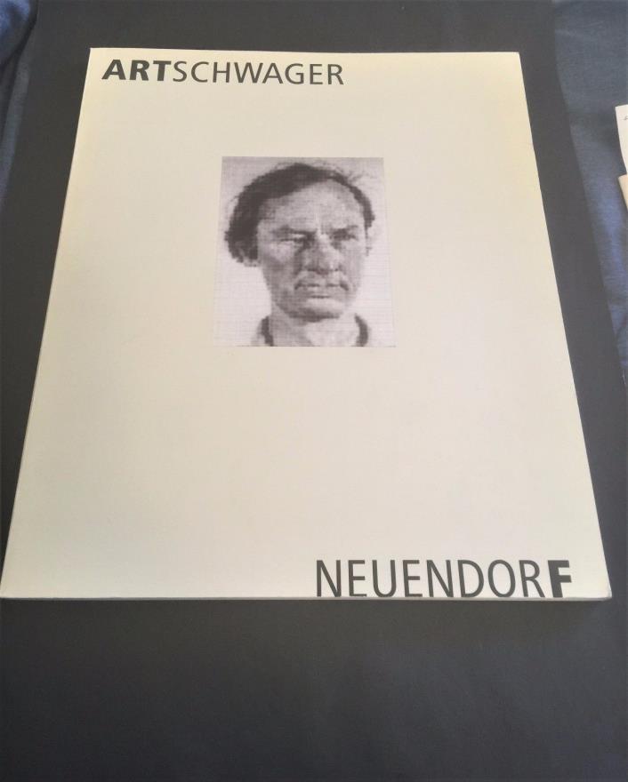Richard Artschwager - exhibition catalog - 1990 - text German/English