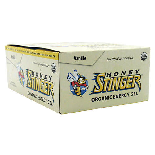 Honey Stinger Organic Energy Gel Vanilla - 24 - 1.1 oz Packets