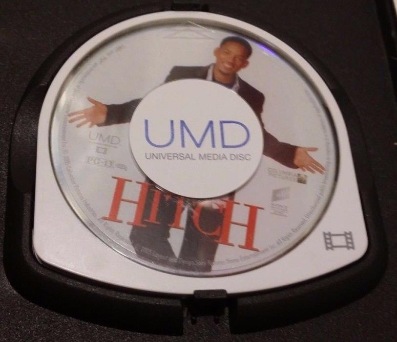 SONY PSP UMD MOVIE HITCH WILL SMITH NO COVER ART DISC ONLY FREE SHIPPING FAST