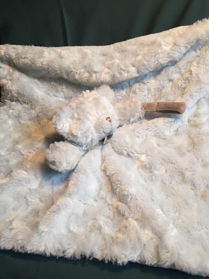 Blankets & Beyond Blue  Bunny Blue BEAR 16