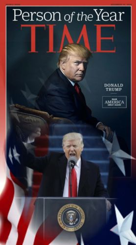 Donald Trump smooth Vinyl banner. 20