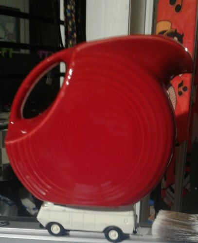 Fiesta Red  Water Pitcher