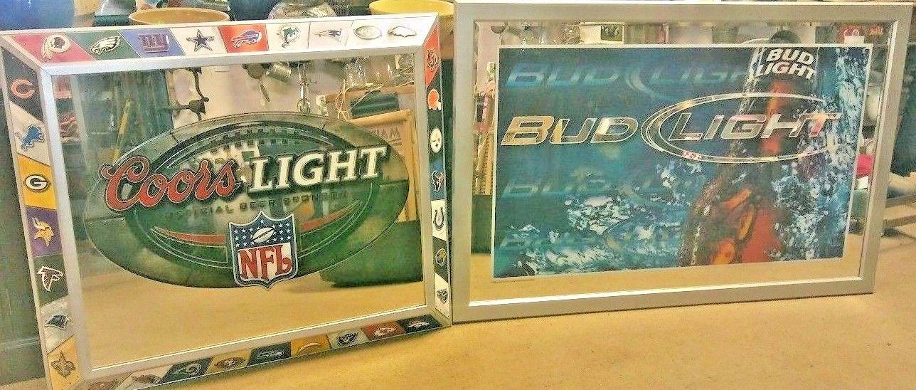 Coors Light & Bud Light Mirrors