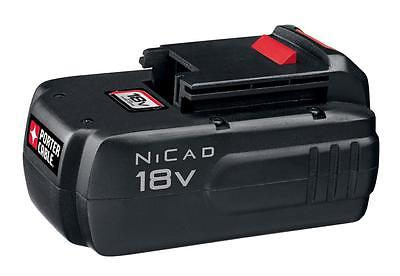 PORTER CABLE-PC18B Cordless 18 Volt Nicd Battery Pack