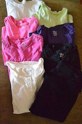 Girls justice/childrens pl layering shirts sz 10/12 EUC (lot of 8)