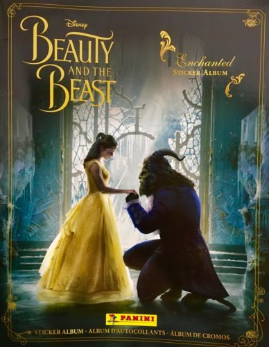 2017 New Beauty And The Beast Enchanted Sticker Album Official Disney Panini