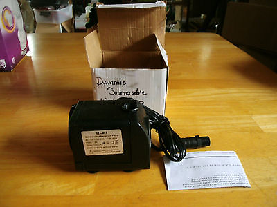 NIB SONGLONG DYNAMIC SUBMERSIBLE WATER PUMP