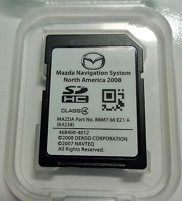 OEM 2010 2011 2012 Mazda 3 Mazda3 CX7 & Grand Touring Navigation SD CARD Map US