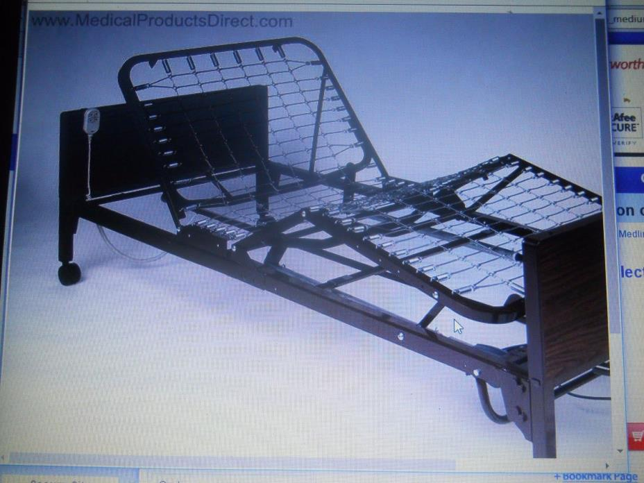 hospital beds  for  home $110,comes,including 2 rails,(not shown in pictures0