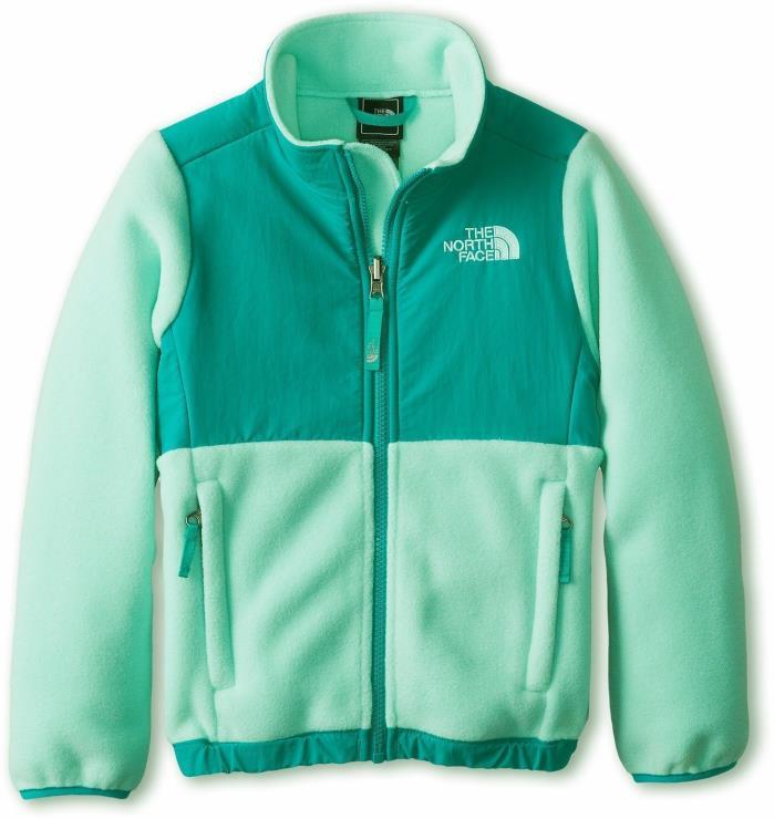 The North Face Girls Polartec Fleece SPRING Denali Sea Glass Green S 7 8 Jacket