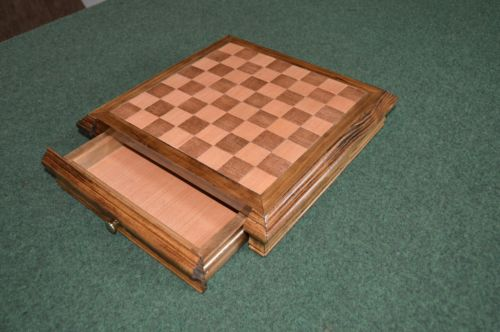 Handcrafted wood Chess Board 1.25
