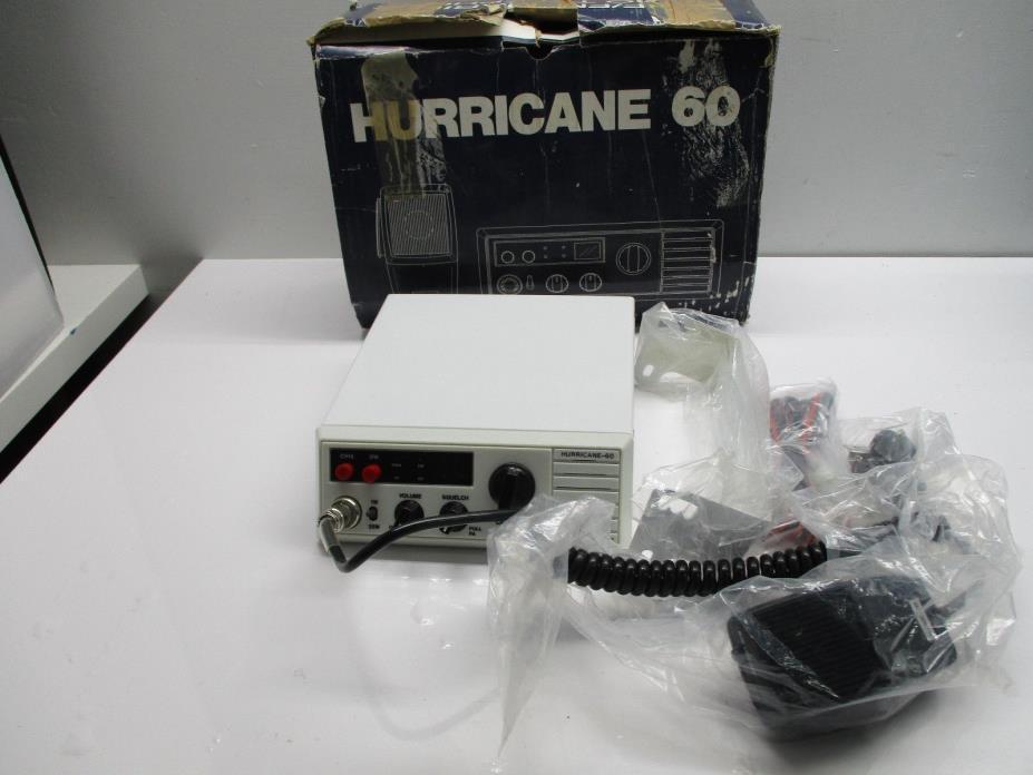 Ranger Communications Hurricane 80 VHF/FM Marine Radio Telephone