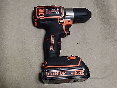 Black and Decker BDCDE120C 20V 3/8