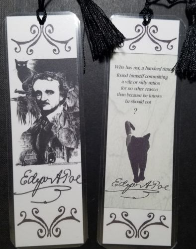 Edgar Allen Poe bookmark