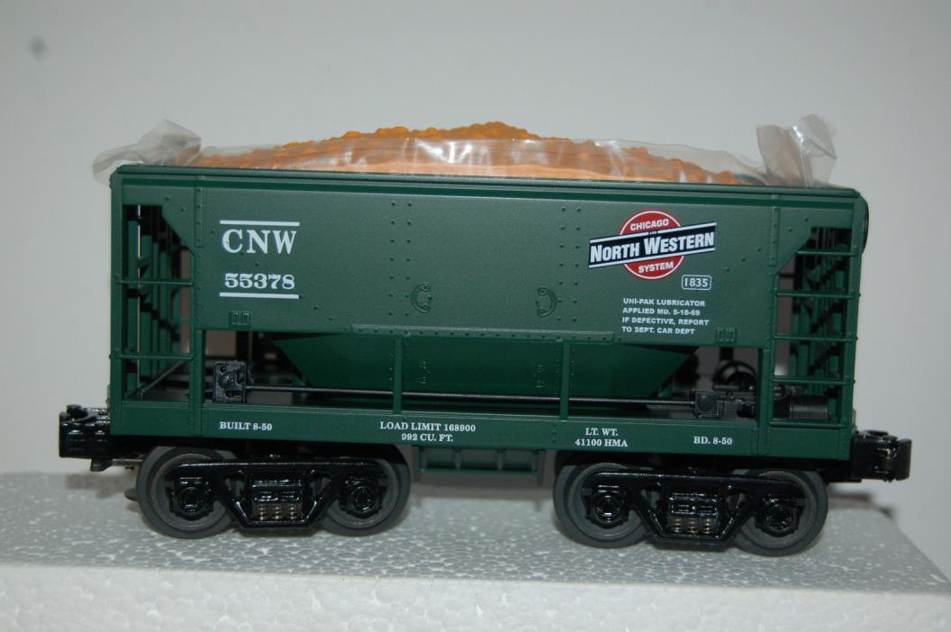Rail King by MTH Electric Trains 30-7519 Chicago North Western Ore Car with Ore