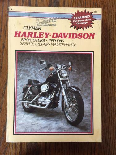 CLYMER HARLEY DAVIDSON SPORTSTERS SERVICE MANUAL 1959-1985