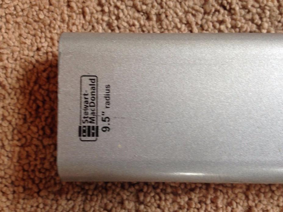 StewMac Aluminum Radius Sanding Beam 9.5