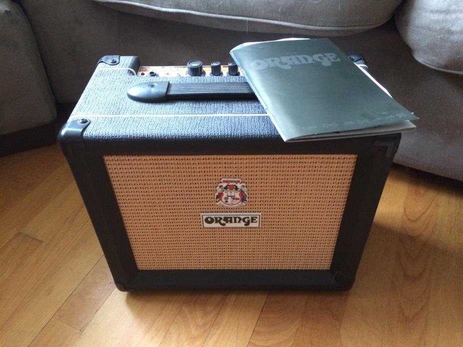 ORANGE CRUSH 20 Guitar Amplifier (Barely Used, Original Paperwork & Box)