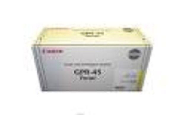 6262B001-GENUINE CANON TONER, CYAN, GPR45C, 6400PG YLD, LBP6480 GUARANTEED