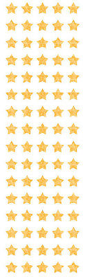 Mrs Grossman's Stickers - Gold Sparkle Micro Stars, Holographic, Party, Craft, F