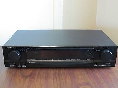 Kenwood KC-993 Control Amplifier Preamp with spectrum analyzer display / EQ
