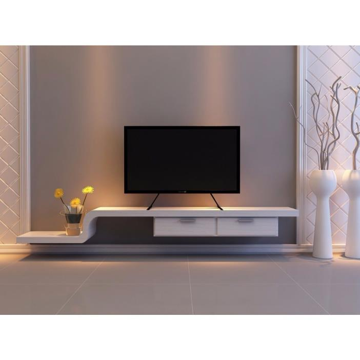 Flat Screen TV Stand Entertainment Center Media Console Table Top Mount 60