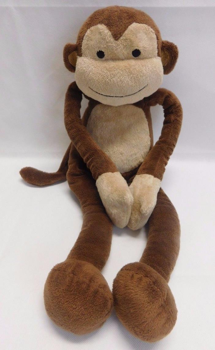 Lambs & Ivy Papagayo Plush Brown Baby Monkey Stuffed Animal Toy