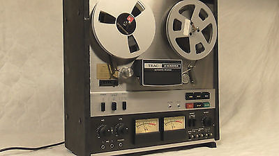TEAC A-4300SX Stereo Reel to Reel Tape Recorder Serviced and Tested