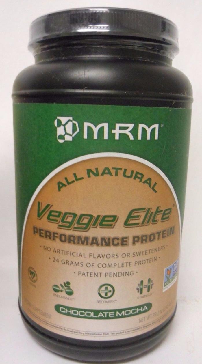 MRM - Veggie Elite Performance Protein 24 Grams Chocolate Mocha 2.45 lbs B15