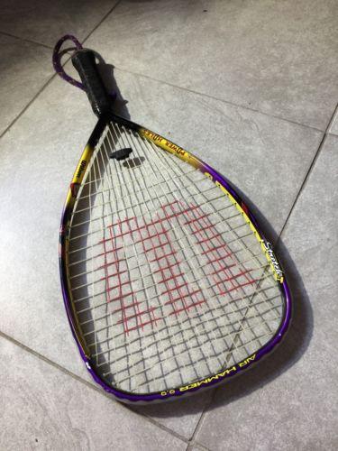 Wilson Air Hammer 9.9 Stretch 3 7/8 Racquetball Racquet Good