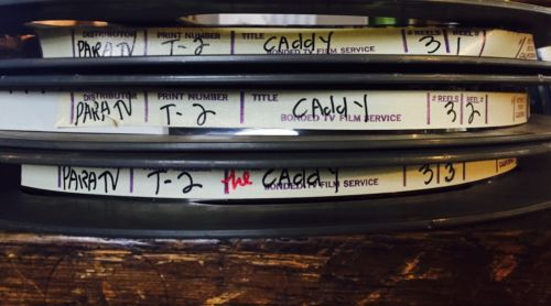 The Caddy Original Vintage 16mm Film Reels Collectable Movie Hollywood