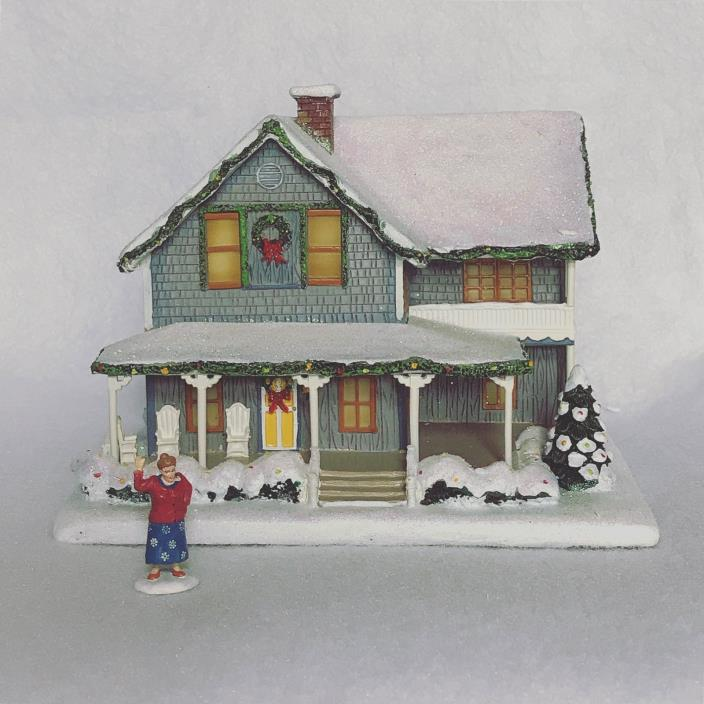 Hawthorne Village Mayberry Andy Taylor Home + Aunt Bee Bea Figure - NIB w/ COA