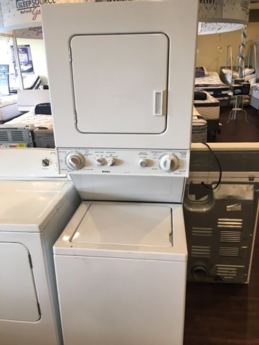 Whirlpool Washer And Electric Dryer Stacker
