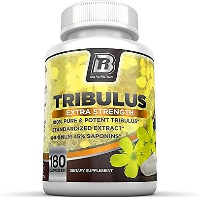 BRI Nutrition Tribulus Terrestris 1500mg Maximum Strength Tribulus, New
