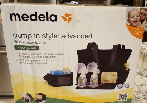NEW Medela pump In Style Advanced Breastpump starter set  + Storage Bags