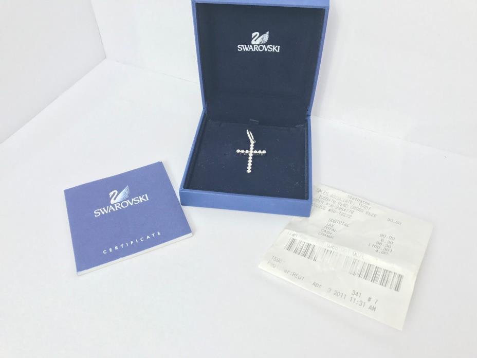 Swarovski Cross Bezel Pendant 1058476, JUST CROSS