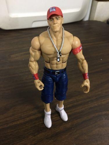 Mattel WWE Elite John Cena Action Figure WWF Wrestling