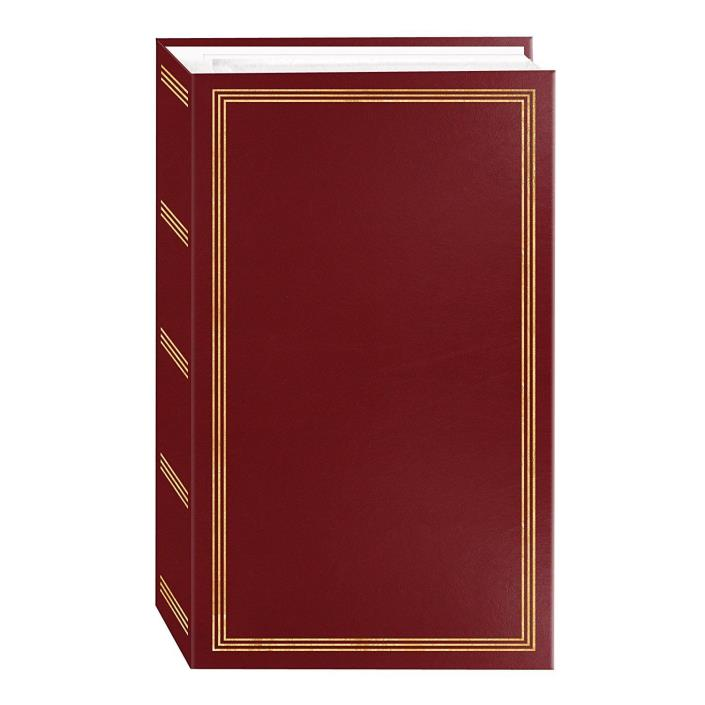 3-ring pocket BURGUNDY album for 504 photos - 4