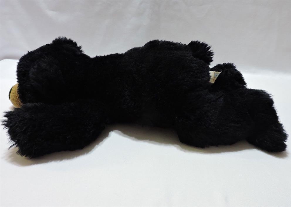 Animal Alley Bear Black Plush Stuffed Toy Soft Cuddly 18
