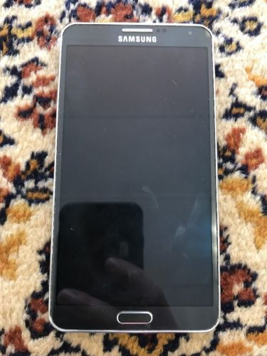 Samsung Galaxy Note 3 AT&T Broken LCD With Charger