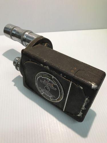 Vintage Bell & Howell Filmo 16mm Camera finder Lenses 3 inch, 1 inch, 17mm