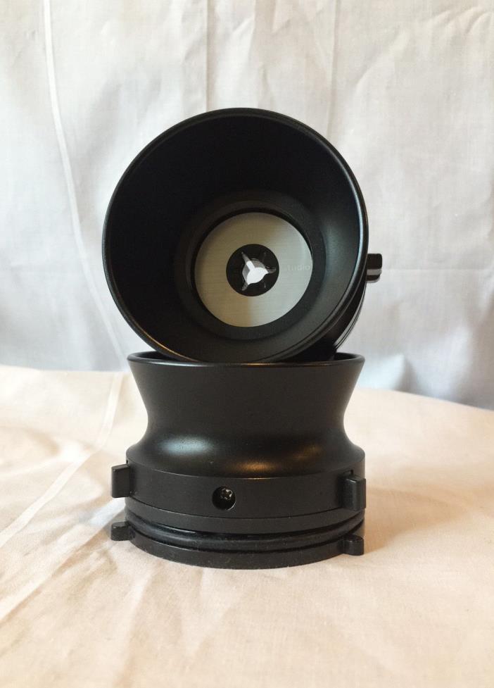 Black Aluminium NAB Hub adapters for Studer Revox  Akai MADE/ASSEMBLED IN USA