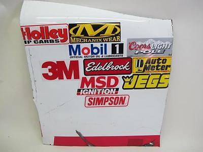 NASCAR Kyle Larson #42 Race Used Contingency Sponsor Panel TARGET Sheet Metal