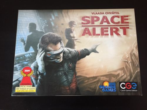 Space Alert Board Game Czech Games Excellent Condition