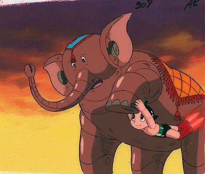 Astroboy Anime Cel Atom Robot Circus Animation Art Osamu Tezuka 1980s Rare!