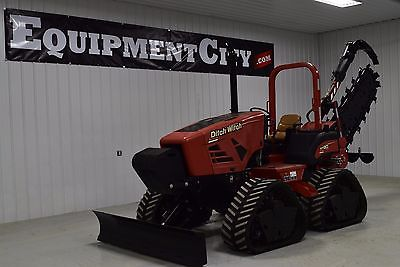2013 DITCH WITCH RT80 QUAD TRACK HYDRAULIC TRENCHER VERMEER RTX550 RTX750 RT75