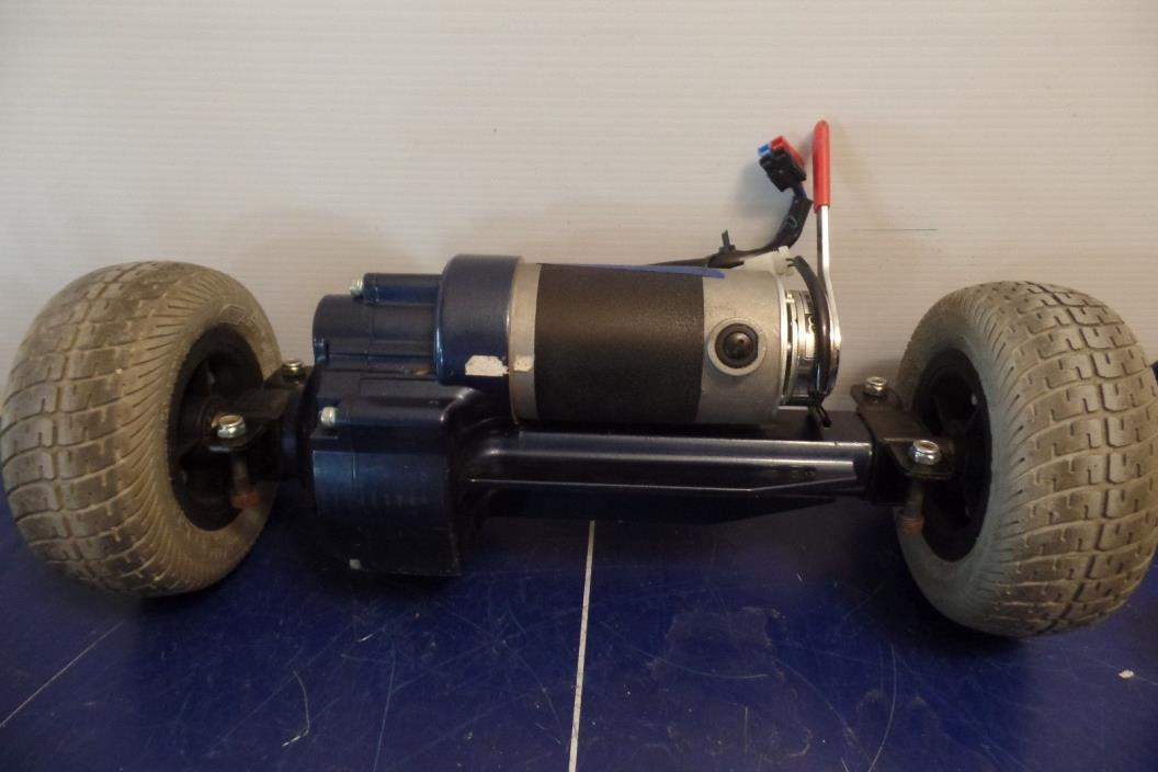 Golden Technologies Buzzaround Scooter Motor Transaxle Assembly w/Wheels #314